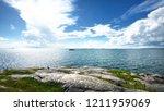 seascape from a helsinki shore...   Shutterstock . vector #1211959069