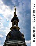 bell tower of st. stephen's...   Shutterstock . vector #1211985406