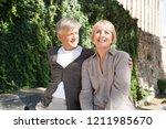 portrait of mature tourist... | Shutterstock . vector #1211985670