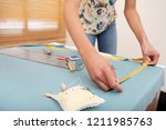 mid section view of young... | Shutterstock . vector #1211985763