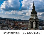 view to budapest from st.... | Shutterstock . vector #1212001153