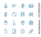 collection of 16 education...   Shutterstock .eps vector #1212002320
