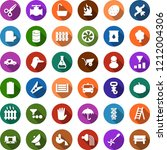 color back flat icon set   duck ... | Shutterstock .eps vector #1212004306