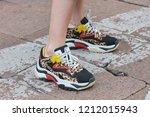 milan  italy   september 22 ...   Shutterstock . vector #1212015943