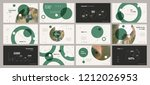 mint turquoise elements on a... | Shutterstock .eps vector #1212026953