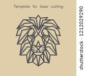 template animal for laser... | Shutterstock .eps vector #1212029290