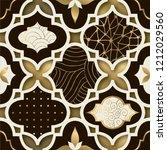 art deco modern seamless... | Shutterstock .eps vector #1212029560