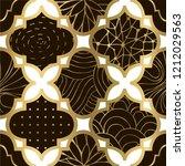 art deco modern seamless... | Shutterstock .eps vector #1212029563