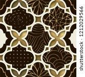 art deco modern seamless... | Shutterstock .eps vector #1212029566