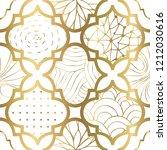 art deco modern seamless... | Shutterstock .eps vector #1212030616