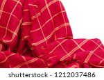 scottish tartan pattern. red... | Shutterstock . vector #1212037486