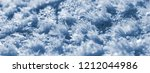 frost crystals closeup  with...   Shutterstock . vector #1212044986