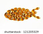Omega3 Capsules   Fish Shape