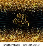 christmas background with... | Shutterstock .eps vector #1212057010