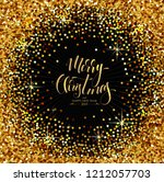 christmas background with... | Shutterstock .eps vector #1212057703