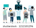 character illustration of... | Shutterstock .eps vector #1212101296