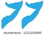 map   somalia couple set   map... | Shutterstock .eps vector #1212103600