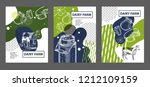 agricultural brochure layout... | Shutterstock .eps vector #1212109159