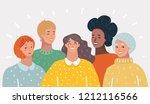 vector cartoon illustration of... | Shutterstock .eps vector #1212116566