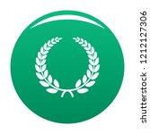 triumph wreath icon. simple...   Shutterstock .eps vector #1212127306