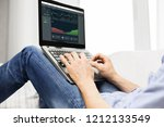 cryptocurrency  business and... | Shutterstock . vector #1212133549