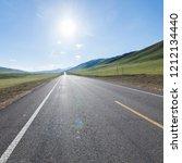 wild field highway    Shutterstock . vector #1212134440