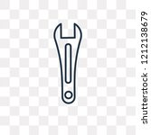 garage wrench vector outline...   Shutterstock .eps vector #1212138679