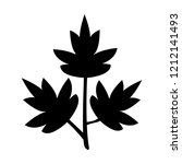 parsley icon  vector... | Shutterstock .eps vector #1212141493
