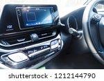 center console car  radio... | Shutterstock . vector #1212144790