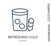 refreshing cold drink icon.... | Shutterstock .eps vector #1212149893