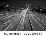 highway  gardiner expressway in ... | Shutterstock . vector #1212159859
