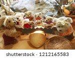 teddy bears in teddy bear museum | Shutterstock . vector #1212165583