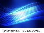 dark blue vector pattern with...   Shutterstock .eps vector #1212170983
