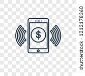 mobile money concept vector...