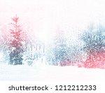 Winter. Snowfall. Christmas...