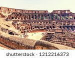 rome italy   27 august  2018 ...   Shutterstock . vector #1212216373