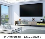 3d rendering the spacious... | Shutterstock . vector #1212230353