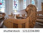 pristina  kosovo   october 20 ... | Shutterstock . vector #1212236380