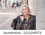 portrait of modern senior... | Shutterstock . vector #1212240373