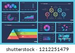 business presentation page... | Shutterstock .eps vector #1212251479