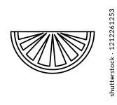 lemon citrus fruit icon | Shutterstock .eps vector #1212261253