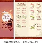 Sushi menu free vector art 1667 free downloads template design of sushi menu pronofoot35fo Gallery