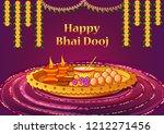 vector design of indian kids... | Shutterstock .eps vector #1212271456