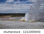 great fountain geyser by... | Shutterstock . vector #1212300043