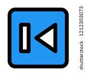 previous button symbol   Shutterstock .eps vector #1212303073