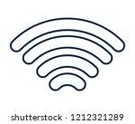 wifi internet symbol | Shutterstock .eps vector #1212321289