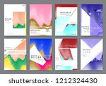 abstract background cover... | Shutterstock .eps vector #1212324430