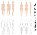 vector illustration of figures  ... | Shutterstock .eps vector #121233274