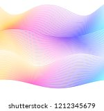soft rainbow color. linear... | Shutterstock .eps vector #1212345679