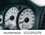 close up of the car dashboard | Shutterstock . vector #1212351370